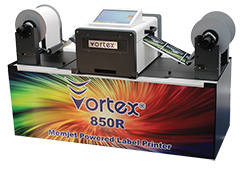 Vortex 850R Digital Label Printer
